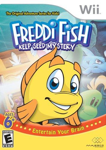 Freddi Fish: Kelp Seed Mystery - Nintendo Wii