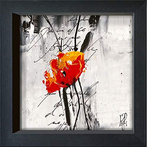 International Graphics - Postal enmarcada - Isabelle, Zacher-Finet - ''Rêve Fleurie III''-...
