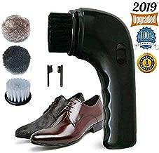 Electric Shoe Polisher Brush,Onefuntech Shoe Buffer Kit Shoe Shiner Dust Cleaner Portable..
