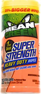 Mean Green Super Strength Heavy Duty Wipes 35 ct