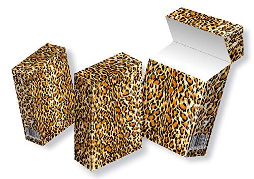 slipp overall ZIGARETTENSCHACHTEL ÜBERZIEHER Zigarettenschachtel Hülle Komplettüberzieher mit Deckel (049 Leo, 3 Stück)