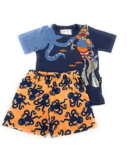 Happy People Pyjama für Kinder, Größe: 4937 mm, Größe: 8 Jahre