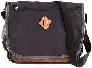 Benetton 16246 Messenger Bag, Grey/Brown