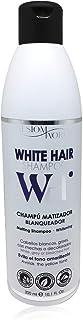 Champú silver WH matizador blanqueador cabellos blancos sin parabenos sin sal 300ml. sesioMWorld®