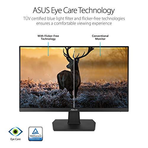 "ASUS VA27EHE 27"" Eye Care Monitor Full HD (1920 x 1080) IPS 75Hz Adaptive-Sync HDMI D-Sub Frameless"
