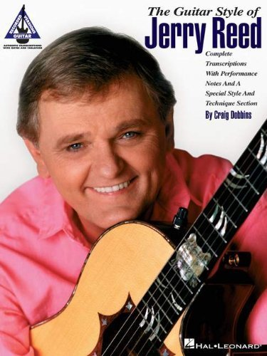 The Guitar Style Of Jerry Reed Guitar Recorded Versions Tab Book by VARIOUS (2011) Paperback