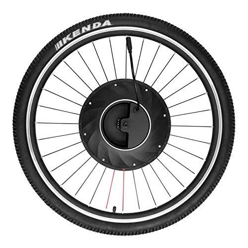 QYLOZ Deporte al Aire Libre Bicicleta eléctrica del Disco de la Rueda Delantera V Cubo del Freno de Motor Kit 36V 240W Potente Motor de la E-Bici de conversión con la batería de Piezas de Bicicletas