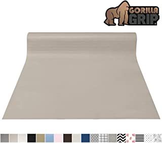 Gorilla Grip Original Smooth Top Slip-Resistant Drawer and Shelf Liner, Non Adhesive..
