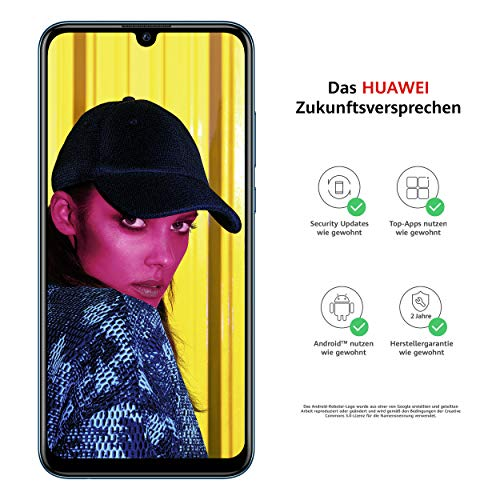 Huawei P Smart (2019) - Smartphone 64GB, 3GB RAM, Dual Sim, Sapphire Blue