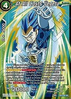 Dragon Ball Super TCG - at All Costs Vegeta - BT4-030 - SR - Series 4: Colossal Warfare