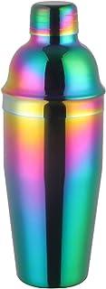 YIFEI2013-SHOP Cocktail Set Cocktail Shaker 750 ml Colourful Stainless Steel Barware Tool Kit Boston Cocktail Set Shaker W...
