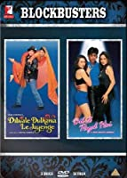 Blockbusters- Dilwale Dulhaniya Le Jaayenge and Dil To Pagal Hai (2 Classic Romantic Hindi Movies / Indian Cinema / Bollywood Film DVD in a Steelbook Set) by Shah Rukh Khan