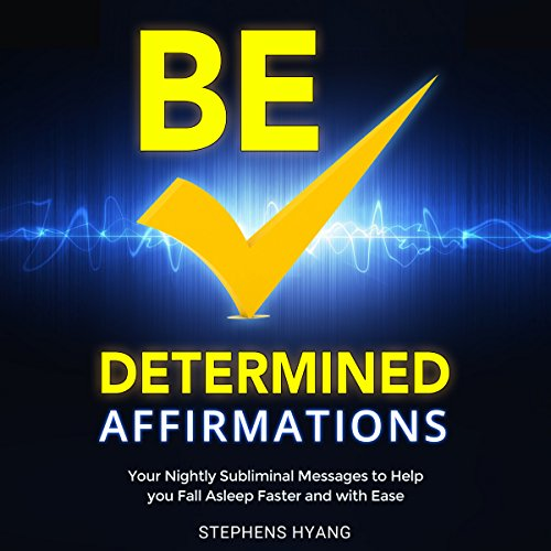 Be Determined Affirmations audiobook cover art