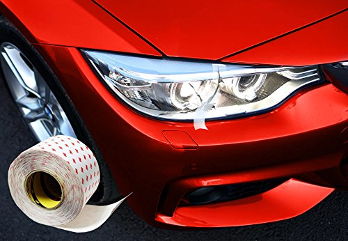 3M Clear High Gloss Finish Headlight RepAir Crack Sealing 2 Inches x 48 Inches Vinyl Tape Roll