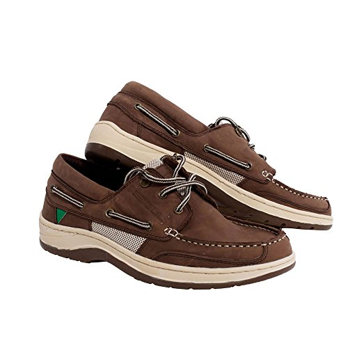 Gul Falmouth Leather Deck Shoe in TAN DS1002 Boot/Shoe Size UK - UK Size 8