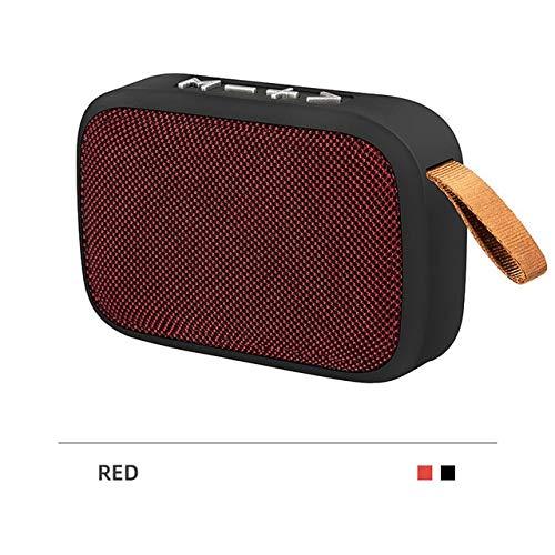 Mini Bluetooth-luidspreker draagbare externe luidspreker stereo muziek surround ondersteuning Fm Tfcard Stereo, hong se