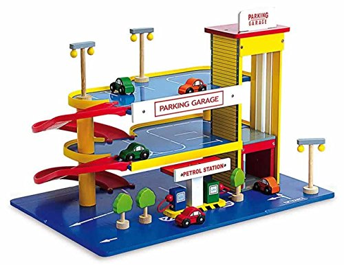 Jouetprive-Garage parking avec station d'essence Mick