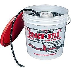 "powerful Crack StixTM 125 FT. Medium 1/2 ""Permanent Asphalt Crack Filler-2050″"