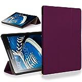 Forefront Cases Lenovo Tab 2 A7-20 Funda Carcasa Stand Smart Case Cover Protectora Plegable – Ultra Delgado Ligera y Protección Completa del Dispositivo con Función Auto Sueño/Estela (Morado)