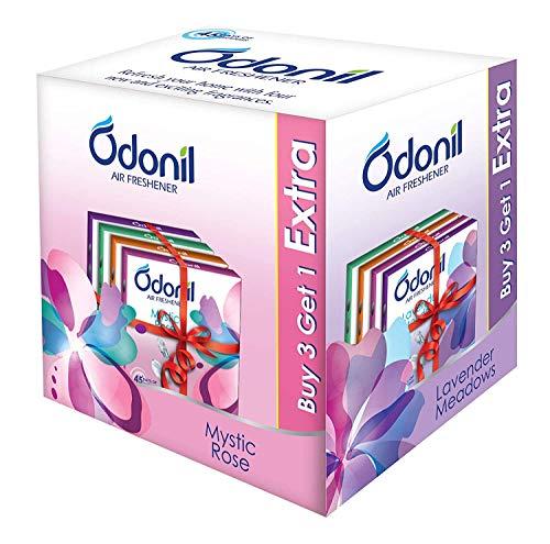 Odonil Air Freshner Blocks 50g Pack Of 8 ( Buy 6 Get 2 Free )