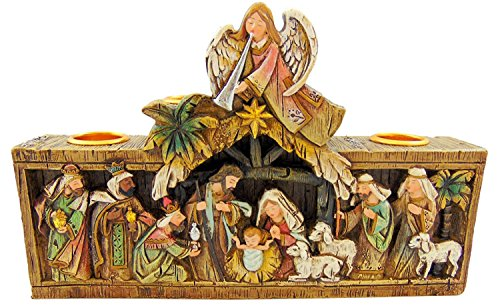 Avalon Gallery Advent Candleholder, Nativity