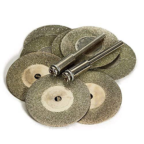 Backbayia - 40 discos de corte de diamante para motosierra circular (20 – 50 mm)