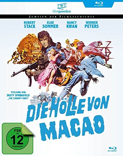 The Corrupt Ones (1967) ( Die Hölle von Macao ) [ Blu-Ray, Reg.A/B/C Import - Germany ]