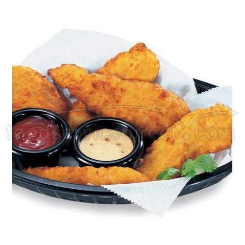 Tyson Breaded Chicken Breast Tender Fritter With Rib Meat, 2.13 Ounce -- 75 per case.