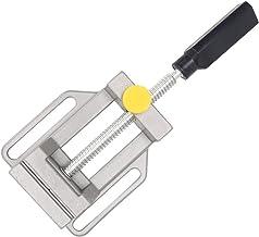 Bench Vise - Tornillo de banco para taladro de mesa,herramientas para Source Mall Mini banco de mesa,tornillo de banco de sujeción para manualidades y hobby,banco giratorio de 360 grados