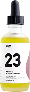 Way Of Will 23 Pre Shave Oil for smooth efforless irritation free shave, Protects and Hydrates Your Skin - Prevents Razor Burn, Rashes, Bumps and Ingrown Hairs