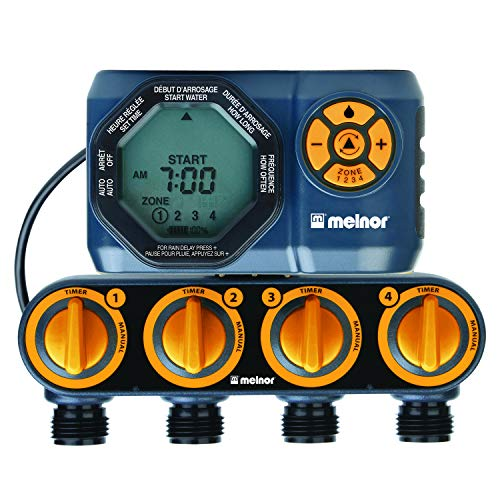 Melnor 15440-HDC Digital 4-Zone Water Timer