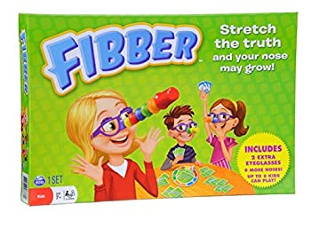 Spin Master Games Fibber Board Game with Bonus Items