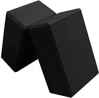 Yoga Blocks-2PC Blocks Set-High Density EVA Foam Blocks to Support and Deepen Poses,Improve Strength and Balance and Flexi...