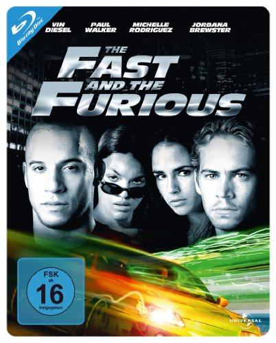 The Fast and the Furious - Steelbook [Blu-ray]