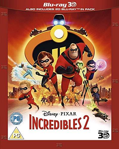 Incredibles 2 3D [Blu-ray] [UK Import]