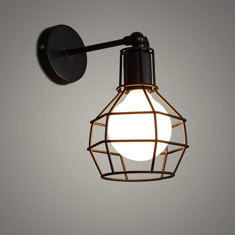 Moderne minimalistische Eisen Retro American Style Loft Schlafzimmer Gang Wandleuchte A +