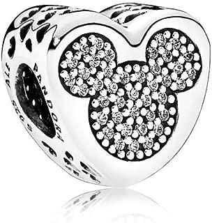 Disney Mickey and Minnie True Love Charm 792050CZ