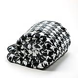 Sleeper'z - Couverture Plaid Polaire pour canapé ou lit - Chaud et Doux - imprimé...