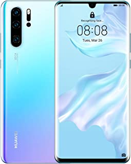 HUAWEI P30 Pro Smartphone, Dual Sim Mobile Phone with 6.47-Inch OLED Display and Leica Quad AI Camera, 8GB+256GB, Breathing Crystal-Australian Version