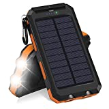 EisEyen - Caricatore solare Hiluckey 10000...