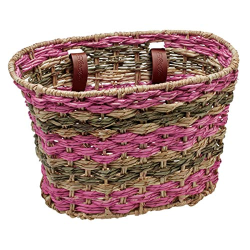 Electra Bicycle Electra Fahrradkorb Woven Basket Palm, pink, 54171