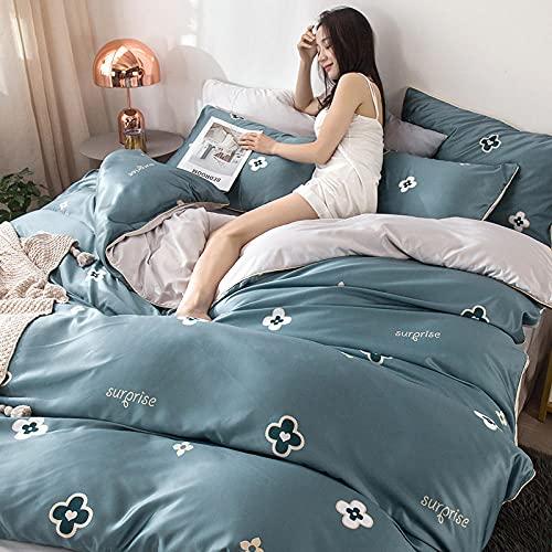 funda nordica cama 150 gris,Las hojas de primavera y de verano se han establecido en la liviana europea de lujo Feng Shui en forma de ropa de cama de tres o cuatro piezas-T_1,5 m la cama (4 piezas)