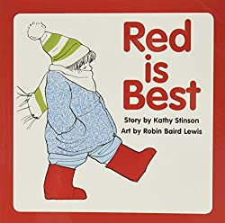 A screenshot of the cover of the book Red is Best