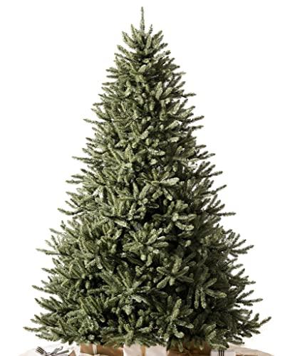 Balsam Hill 7.5ft Premium Unlit Artificial Christmas Tree Classic Blue Spruce...