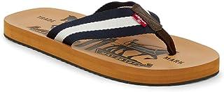 Mens Two Horse Casual Flip-Flop Sandal Shoe