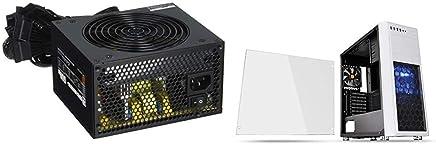 玄人志向 NEXTシリーズ 80 PLUS Bronze 600W ATX電源 KRPW-N600W/85+ & Thermaltake Versa H26 White /w casefan ミドルタワー型PCケース [ホワイトモデル] CS7071 CA-1J5-00M6WN-01