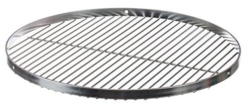 Brandsseller Parrilla Redonda oscilante de Acero Inoxidable | Barbacoa|18/0 AISI 430| Libre de Nickel | Diámetro de Ø 50 cm |