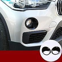pour X2 F47 2018 2019 Yiwang Accessoires auto Coque de protection en ABS chrom/é pour interrupteur de phare pour X1 F48 2016-2019