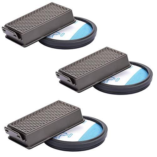 Honeststar 3 Kit de Filtres HEPA pour Aspirateur Moulinex Rowenta Compact Power Cyclonic Mousse Filtre Accessoire Adapté pour Series MO3723pa RO3731ea RO3753ea RO3786ea MO3718pa MO3786pa ZR005901