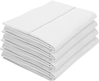 Bare Home 4 Kids Pillowcases - Premium 1800 Ultra-Soft Collection - Bulk Pack - Double Brushed - Hypoallergenic - Wrinkle ...
